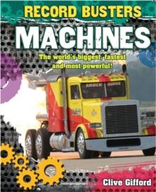 Record Busters: Machines, Paperback / softback Book