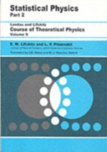 Statistical Physics : Theory of the Condensed State, Paperback Book