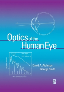 Optics of the Human Eye, Paperback / softback Book