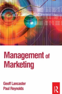 Management of Marketing, Paperback Book