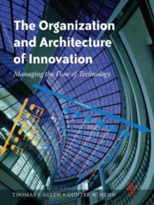 The Organization and Architecture of Innovation, Paperback / softback Book