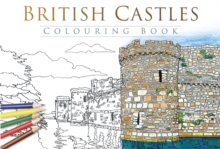 British Castles Colouring Book, Paperback Book