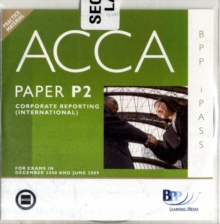 ACCA - P2 Corporate Reporting (INT) : i-Pass, CD-ROM Book