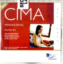 CIMA - P1: Management Accounting: Performance Evaluation : i-Pass, CD-ROM Book
