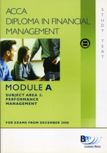 DipFM - Performance Management : Study Text, Paperback Book