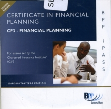 Certificate in Financial Planning: 3 Financial Protection : i-Pass CF3, CD-ROM Book