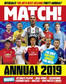 Match Annual 2019, Hardback Book