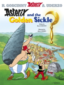 Asterix and the Golden Sickle : Album 2, Paperback Book
