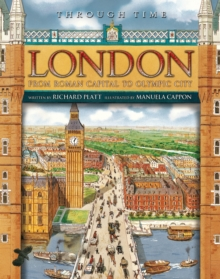 Through Time: London, Paperback / softback Book