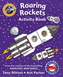 Amazing Machines Roaring Rockets Activity Book, Paperback / softback Book