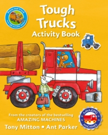 Amazing Machines Tough Trucks Activity Book, Paperback Book