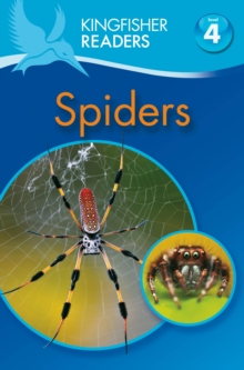 Kingfisher Readers: Spiders (Level 4: Reading Alone), Paperback / softback Book