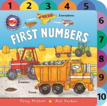 Amazing Machines First Numbers, Board book Book
