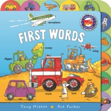 Amazing Machines First Words, Board book Book