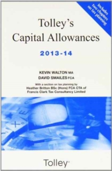 Tolley's Capital Allowances, Paperback Book
