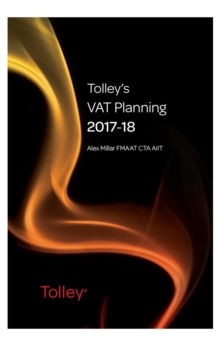 Tolley's VAT Planning 2017-18, Paperback Book