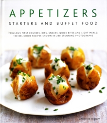 Appetizers, Starters and Buffet Food, Hardback Book