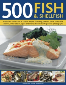 500 Fish and Shellfish, Hardback Book