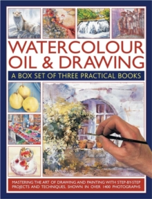 Watercolour, Oil & Drawing : A Box Set of Three Practical Books, Paperback Book