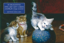 Card Box of 20 Notecards and Envelopes: Kittens and Cats, Cards Book