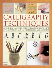 Calligraphy Techniques, Hardback Book