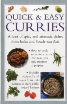 Quick & Easy Curries, Hardback Book