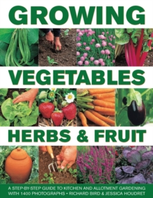 Growing Vegetables, Herbs & Fruit, Hardback Book