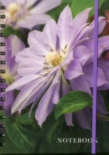 Notebook Clematis : 128 Page Fine Line Notebook, Hardback Book