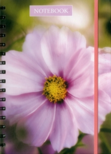 Notebook Pink Cosmos : 128 Page Fine Line Notebook, Hardback Book