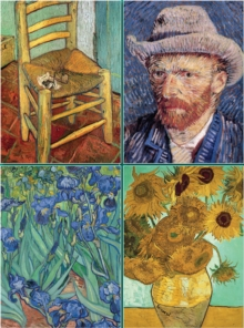 Set of Four Magnetic Notepads: Van Gogh : A Collection of Handy Notepads with Easy Magnetic Fastening, Contained Within a Decorative Box, Paperback Book
