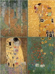 Set of Four Magnetic Notepads: KLIMT : A Collection of Handy Notepads with Easy Magnetic Fastening, Contained Within a Decorative Box, Paperback / softback Book
