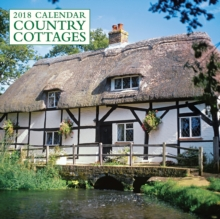 2018 Calendar: Country Cottages, Calendar Book