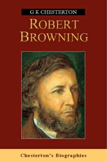 Robert Browning, Paperback Book