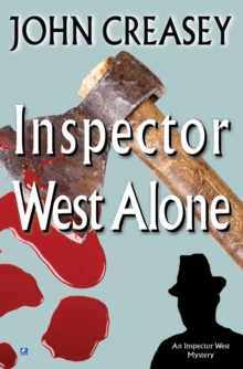 Inspector West Alone, Paperback Book