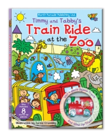 Track Jigsaw Book - Timmy and Tabby's Train Ride at the Zoo, Novelty book Book