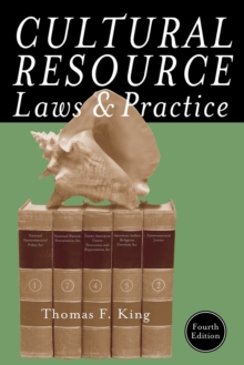 Cultural Resource Laws and Practice, Paperback / softback Book