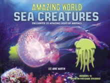 Amazing World Sea Creatures : Encounter 20 Amazing Light-Up Animals--Includes 13 Glow-In-The-Dark Stickers!, Hardback Book