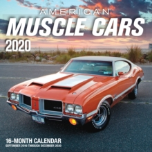 American Muscle Cars 2020 : 16-Month Calendar - September 2019 through December 2020, Calendar Book