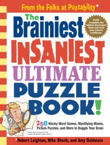 The Brainiest, Insaniest, Ultimate Puzzle Book!, Paperback Book