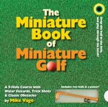 Miniature Book of Miniature Golf, Board book Book