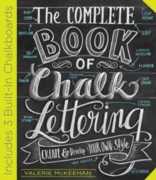 The Complete Chalk Lettering Handbook, Hardback Book