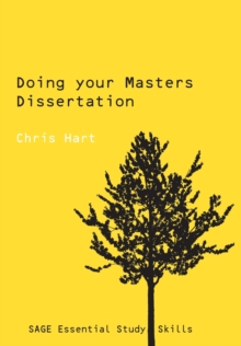 Doing Your Masters Dissertation, Paperback Book