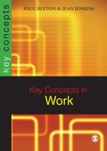 Key Concepts in Work, Paperback / softback Book