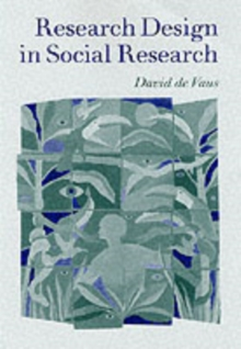 Research Design in Social Research, Paperback / softback Book