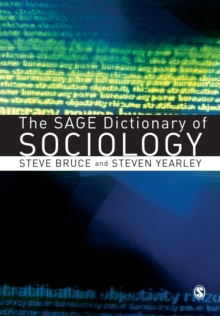 The SAGE Dictionary of Sociology, Paperback / softback Book