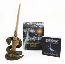 Harry Potter Voldemort's Wand with Sticker Kit : Lights Up!, Mixed media product Book