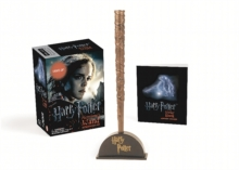 Harry Potter Hermione's Wand with Sticker Kit : Lights Up!, Paperback / softback Book