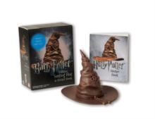 Harry Potter Talking Sorting Hat and Sticker Book : Which House Are You?, Paperback / softback Book