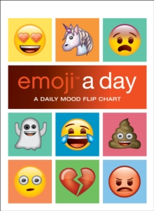 emoji a day : A Daily Mood Flip Chart, Hardback Book