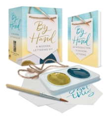 By Hand : A Modern Lettering Kit, Mixed media product Book